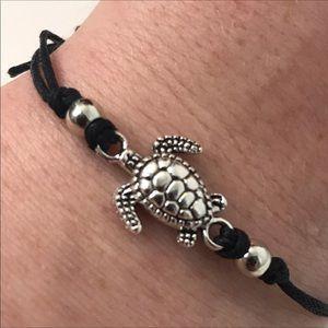 Turtle Bracelet Anklet Beach Jewelry Hemp Alloy